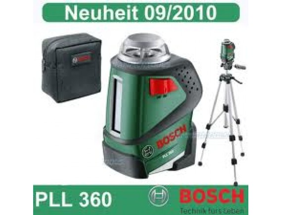 BOSCH PLL 360 LAZERLİ DİCTOMAT SET